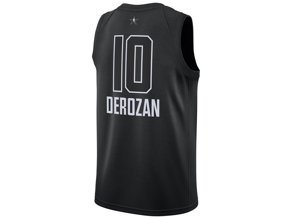 brand new f27fd 154d8 new zealand nike raptors 10 demar derozan white nba jordan ...