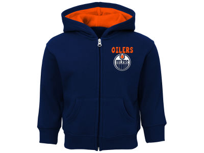 Edmonton Oilers adidas NHL Toddler Pledge Full Zip Hoodie