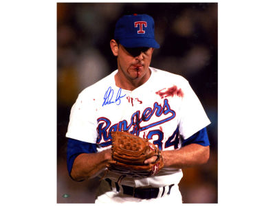 Texas Rangers Nolan Ryan Steiner 16x20 Autographed Photo