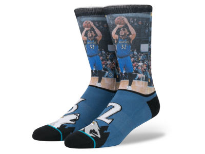 Minnesota Timberwolves Karl-Anthony Towns NBA Future Legends Crew Socks
