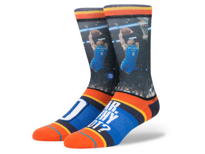 Oklahoma City Thunder Russell Westbrook NBA Future Legends Crew Socks