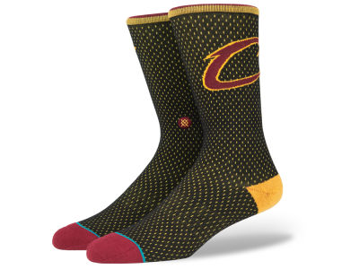 Cleveland Cavaliers NBA Arena Jersey Pack Crew Socks