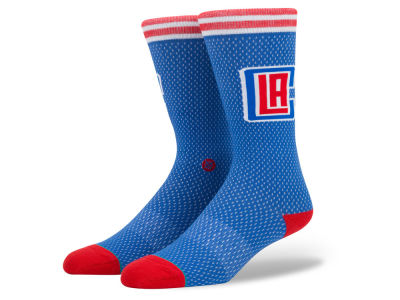 Los Angeles Clippers NBA Arena Jersey Pack Crew Socks
