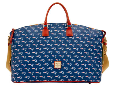 New England Patriots Dooney & Bourke Weekender Satchel