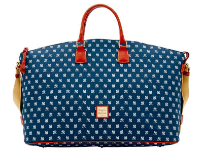 New York Yankees Dooney & Bourke Weekender Satchel