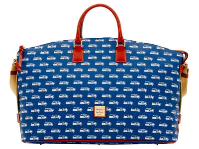 Seattle Seahawks Dooney & Bourke Weekender Satchel