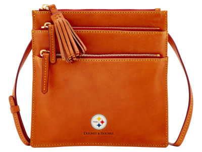 Pittsburgh Steelers Dooney & Bourke Florentine Triple Zip