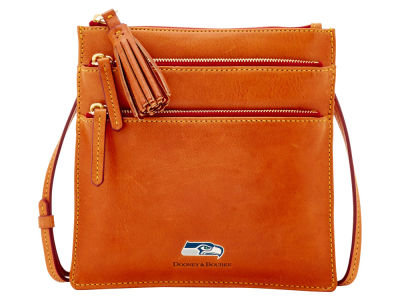 Seattle Seahawks Dooney & Bourke Florentine Triple Zip