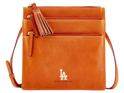 Los Angeles Dodgers Dooney & Bourke Florentine Triple Zip