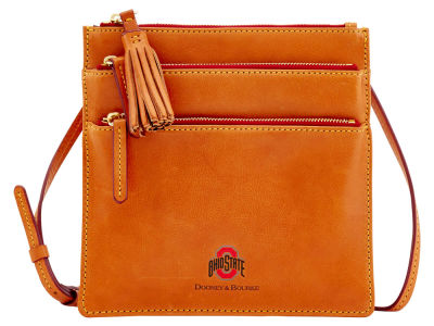 Ohio State Buckeyes Dooney & Bourke Florentine Triple Zip