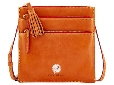New York Yankees Dooney & Bourke Florentine Triple Zip