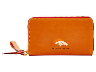 Denver Broncos Dooney & Bourke  Florentine Zip Around Wallet