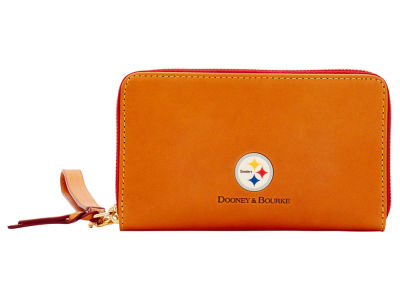 Pittsburgh Steelers Dooney & Bourke  Florentine Zip Around Wallet