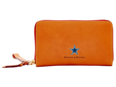 Dallas Cowboys Dooney & Bourke  Florentine Zip Around Wallet