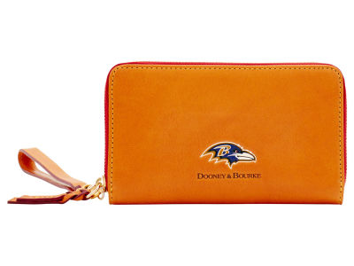 Baltimore Ravens Dooney & Bourke  Florentine Zip Around Wallet