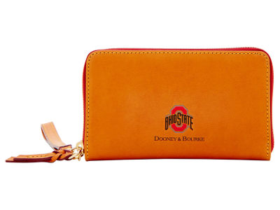 Ohio State Buckeyes Dooney & Bourke  Florentine Zip Around Wallet