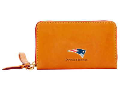 New England Patriots Dooney & Bourke  Florentine Zip Around Wallet