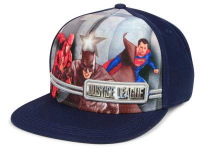 new york 5c575 a73d5 DC Comics Justice League Big Youth Snapback Cap