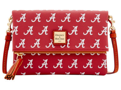 Alabama Crimson Tide Dooney & Bourke Foldover Crossbody Purse