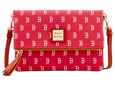 Boston Red Sox Dooney & Bourke Foldover Crossbody Purse