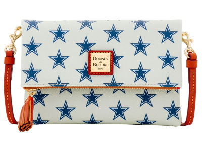 Dallas Cowboys Dooney & Bourke Foldover Crossbody Purse