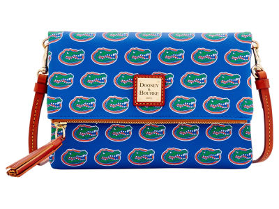 Florida Gators Dooney & Bourke Foldover Crossbody Purse