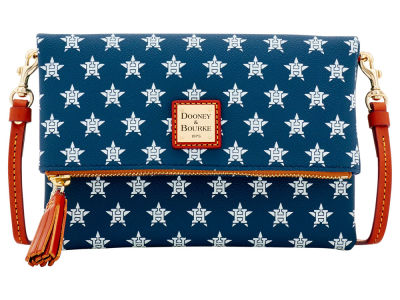 Houston Astros Dooney & Bourke Foldover Crossbody Purse