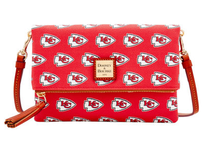 Kansas City Chiefs Dooney & Bourke Foldover Crossbody Purse