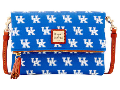 Kentucky Wildcats Dooney & Bourke Foldover Crossbody Purse