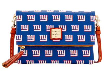 New York Giants Dooney & Bourke Foldover Crossbody Purse