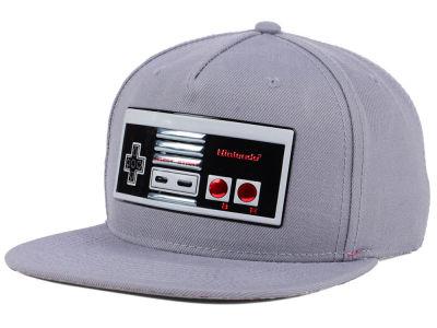 2b3c3066230 Nintendo Liquid Logo Controller Snapback Cap