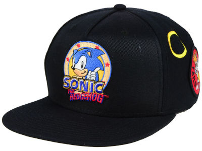 Sonic Sonic Patches Snapback Cap