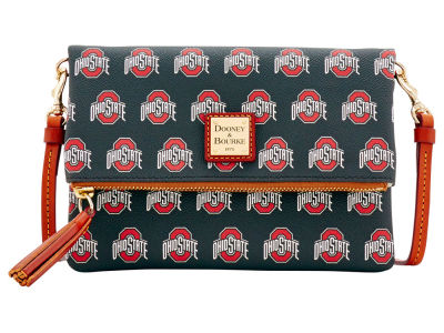 Ohio State Buckeyes Dooney & Bourke Foldover Crossbody Purse