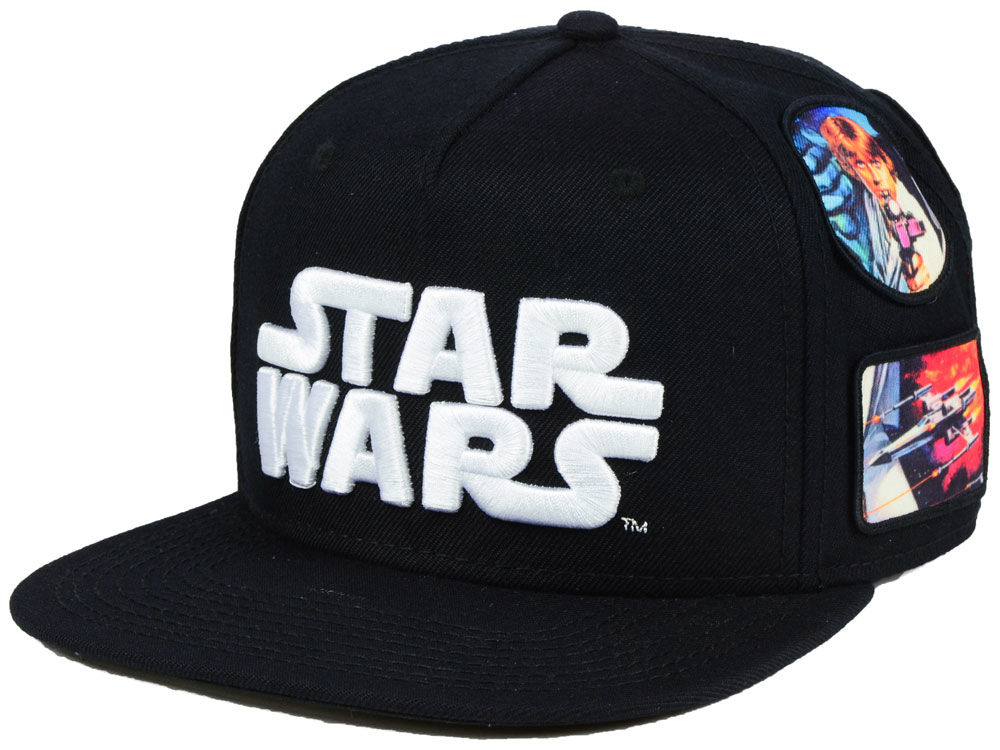 Star Wars Star Wars Patches Snapback Cap  9c25fc35e5e