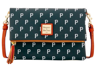 Pittsburgh Pirates Dooney & Bourke Foldover Crossbody Purse