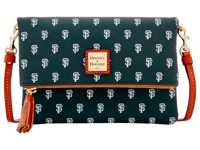 San Francisco Giants Dooney & Bourke Foldover Crossbody Purse