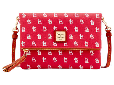 St. Louis Cardinals Dooney & Bourke Foldover Crossbody Purse