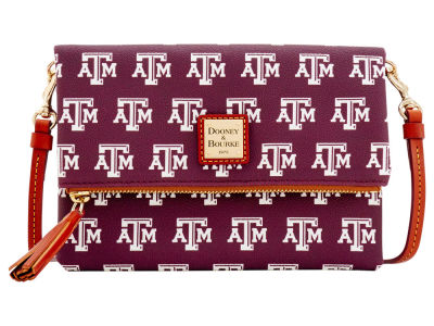 Texas A&M Aggies Dooney & Bourke Foldover Crossbody Purse