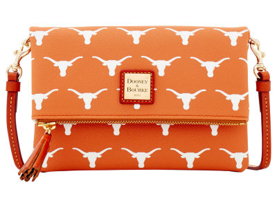 Texas Longhorns Dooney & Bourke Foldover Crossbody Purse