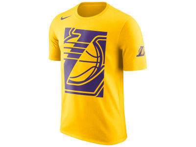Los Angeles Lakers Nike NBA Men's Cropped Logo T-shirt
