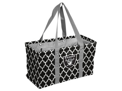 Oakland Raiders Logo Brands Picnic Caddy