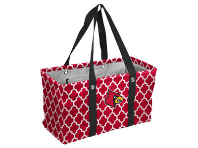 Louisville Cardinals Logo Brands Picnic Caddy