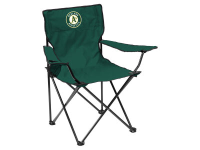 Oakland Athletics Logo Brands Quad Chair