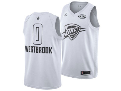 Oklahoma City Thunder Russell Westbrook Nike 2018 NBA Men's All-Star Swingman Jersey
