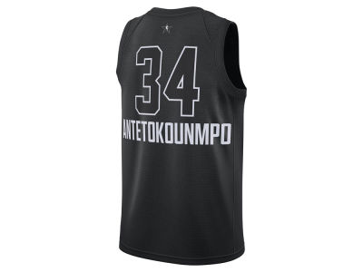 Milwaukee Bucks Giannis Antetokounmpo Nike 2018 NBA Men's All-Star Swingman Jersey
