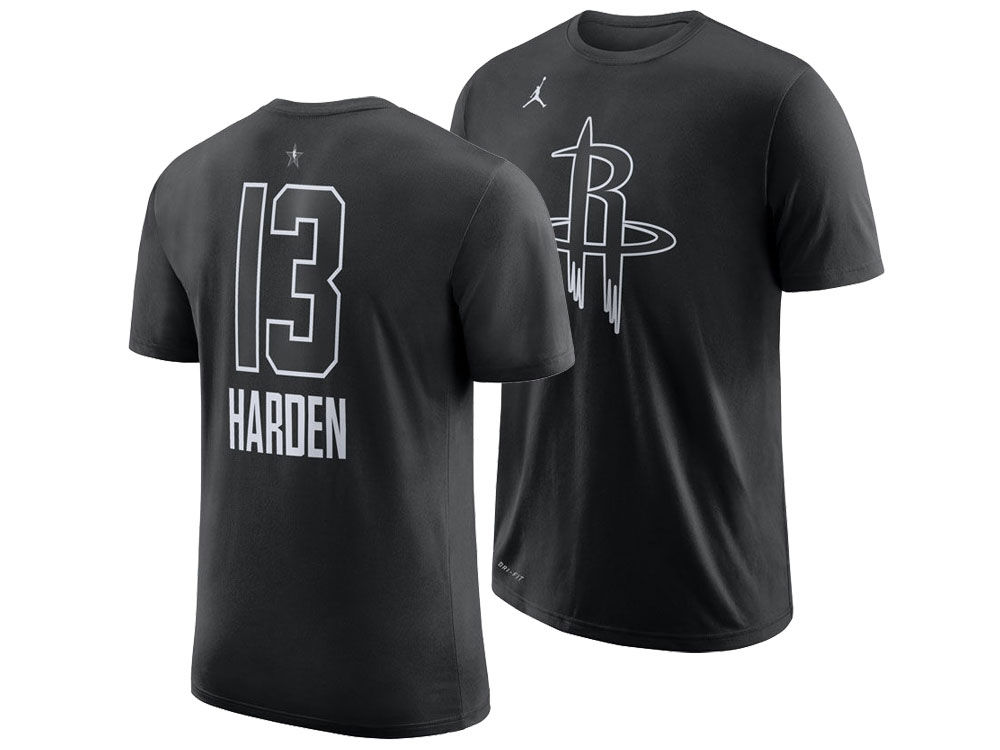 fe6c66c72 Houston Rockets James Harden Jordan 2018 NBA Men s All-Star Jordan Player  T-Shirt