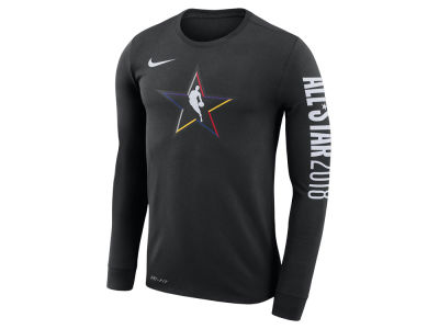 NBA All Star Nike 2018 NBA Men's All Star Logo Long Sleeve T-Shirt