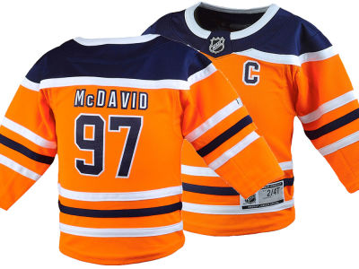Edmonton Oilers Connor McDavid NHL Toddler Premier Player Jersey
