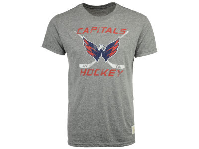 Washington Capitals Retro Brand NHL Men's Sticks Logo Victory T-Shirt