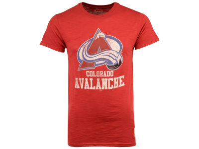 Colorado Avalanche Retro Brand NHL Men's First Line Logo T-Shirt